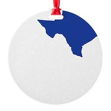I Love Texas Ornament