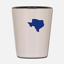 I Love Texas Shot Glass