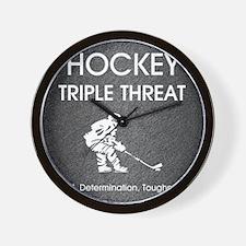 hockeysdt1 Wall Clock