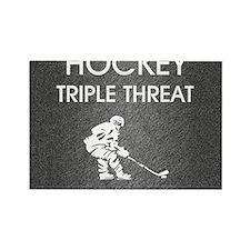hockeysdt1 Rectangle Magnet