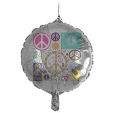 Peace  Paisley Collage Balloon