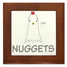 Nuggets Framed Tile