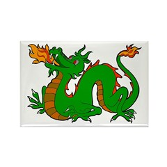 Dragons Rectangle Magnet (10 pack)
