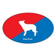 Berger Oval Decal