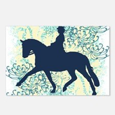 Dressage Horse And Rider Postcards (Package of 8)