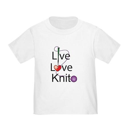 Live Love KNIT Toddler T-Shirt