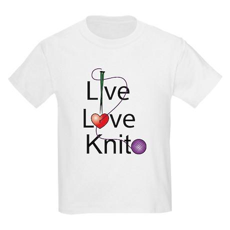 Live Love KNIT Kids Light T-Shirt