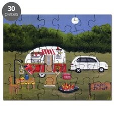 Summer Camping Puzzle