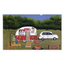 Summer Camping Decal