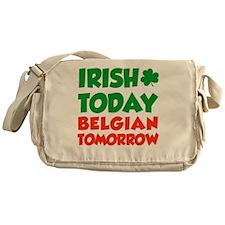 Irish Today Belgian Tomorrow Messenger Bag