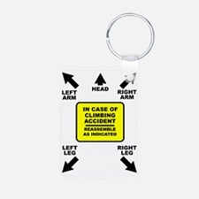 Reassemble Rock Climbing F Keychains