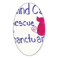 Blind Cat Rescue Decal