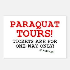POISON - PARAQUAT TOURS. Postcards (Package of 8)