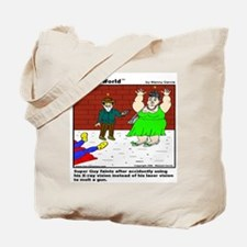 SUPERGUY FAINTS! Tote Bag