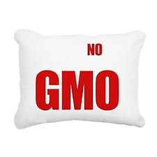 Say No To GMO Rectangular Canvas Pillow