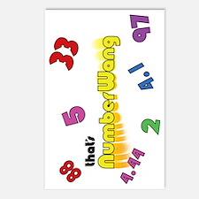Numberwang Case Postcards (Package of 8)