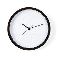 blk_Resist_Tyranny_02 Wall Clock