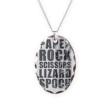 paper rock scissors lizard spo Necklace