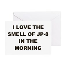 JP-8 IN THE MORNING Greeting Cards (Pk of 10)