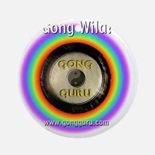 Gong Wild Round Ornament