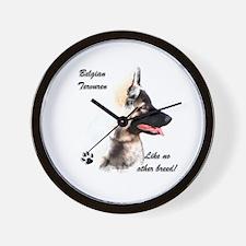 Terv Breed Wall Clock