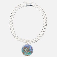Sea Turtle Sea Horse Art Bracelet