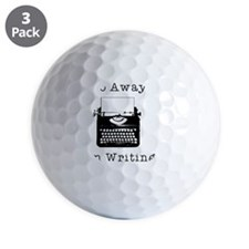 GO AWAY - Writing Golf Ball