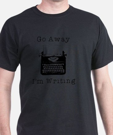 GO AWAY - Writing T-Shirt