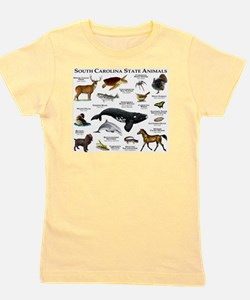 South Carolina State Animals Girl's Tee
