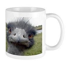 Peek-A-Boo Ostrich Coffee Mug