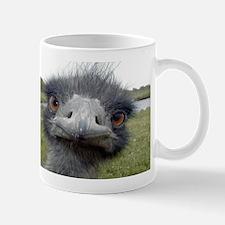 Peek-A-Boo Ostrich Coffee Small Mugs