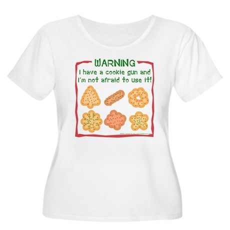 Christmas Cookies Women's Plus Size Scoop Neck T-S