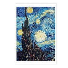 Van Gogh Starry Night Imp Postcards (Package of 8)