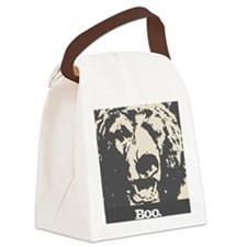 Scary Bear Canvas Lunch Bag