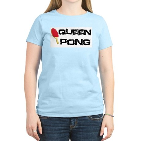 Queen Pong Women's Light T-Shirt