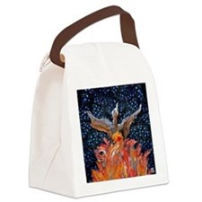 Phoenix Rising Square Lt Canvas Lunch Bag