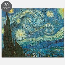 Starry Night van Gogh Puzzle