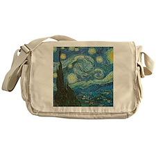 Starry Night van Gogh Messenger Bag