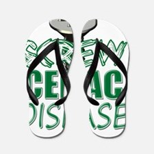 Screw Celiac Disease copy Flip Flops