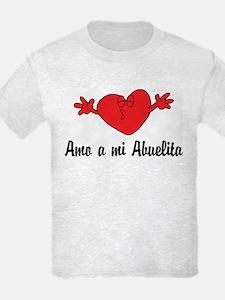 Amo a mi Abuelita T-Shirt