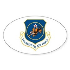 14th Air Force Oval Decal