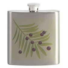 Sketchy Acai Berries Flask