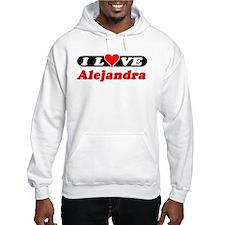 I Love Alejandra Jumper Hoody