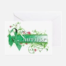 Survivor Floral copy Greeting Card