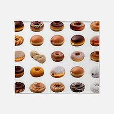 Doughnuts Throw Blanket