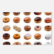 Doughnuts Postcards (Package of 8)