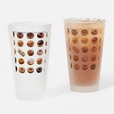 Doughnuts Drinking Glass