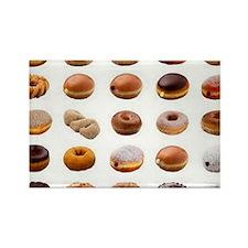 Doughnuts Rectangle Magnet