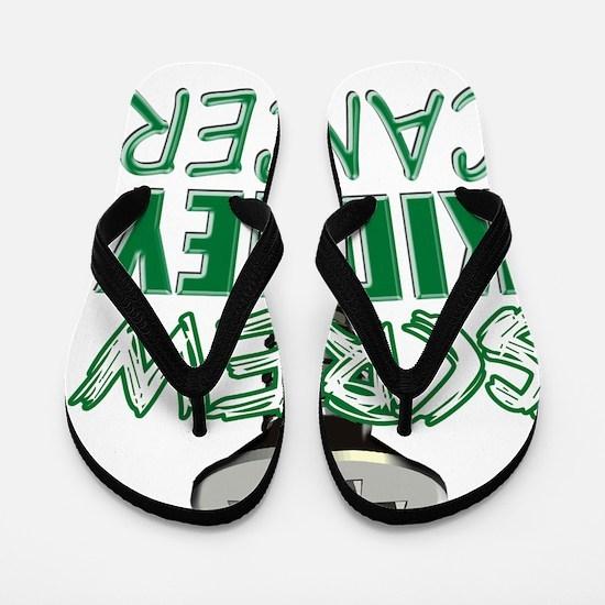 Screw Kidney Cancer copy Flip Flops
