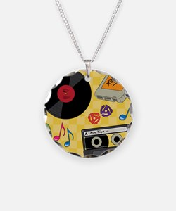 Retro Music Collection Necklace